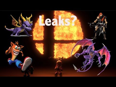 Two different possible leaks for Smash Bros for the Switch!?