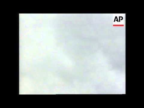 BOSNIA: PALE: FRENCH NATO PLANE SHOT DOWN BY SERB AIR DEFENCES