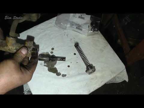 Замена ремкоплекта главного цилиндра сцепления ВАЗ 2106