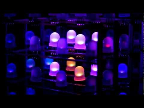 A music visualizer for a 4x4x4 RGB LED cube
