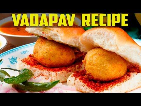 How to Make VADA PAV in Mumbai Style - Recipe in Hindi. thumbnail