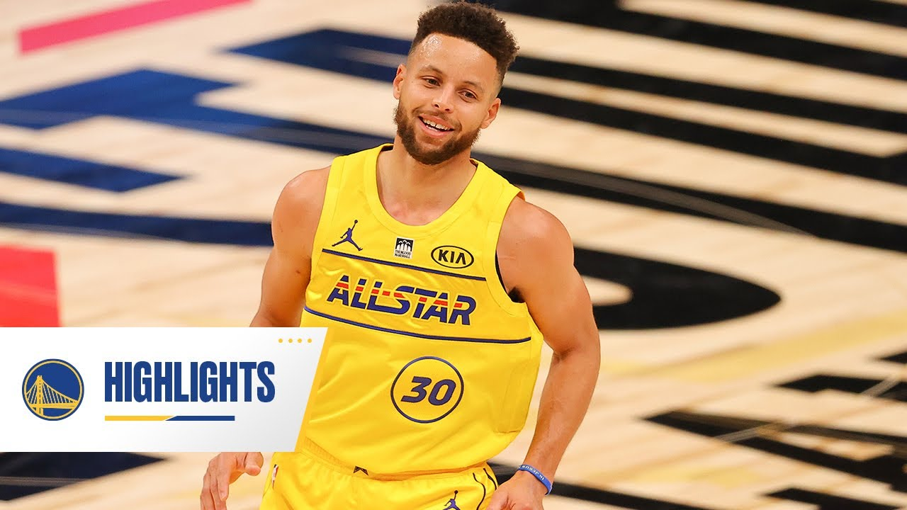 Stephen Curry Puts on a Show at 2020-21 NBA All-Star Game