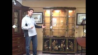 """piece Of The Week"" Drexel Heritage China Cabinet - 01/06/12"