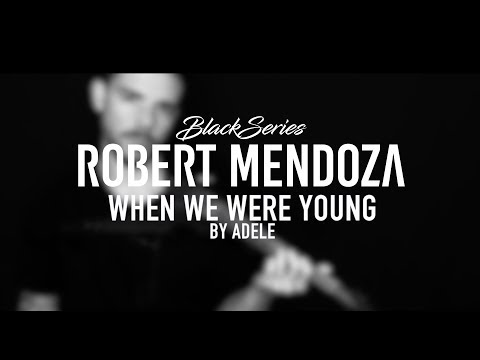 When we were young - Adele (Violin Cover by Robert Mendoza)