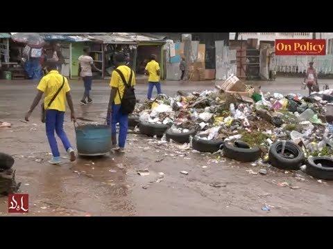 Yaoundé la Capitale - la saleté partout