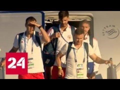Сборная России тренируется в Самаре перед матчем с Уругваем - Россия 24