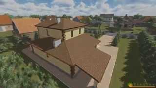Проект дома из теплоблока ТБ 28 (198 м2)