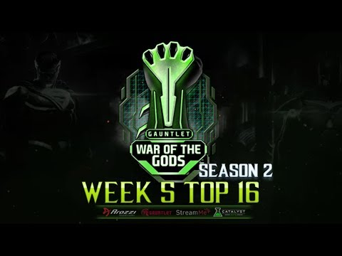 War Of The Gods S2 Week 5 top 16 Ft. Semiij, DAB, Rewind, Tweedy