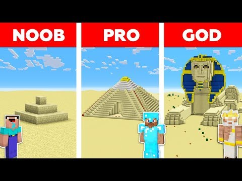 Minecraft NOOB vs PRO vs GOD : SAND BASE CHALLENGE in minecraft / Animation thumbnail