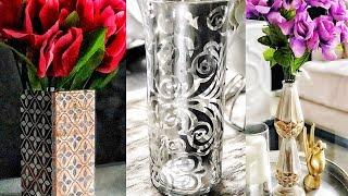 DIY Dollar Tree Decorative Vases - Easy & Pretty!