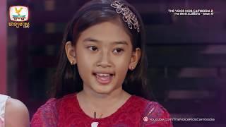 និល ពេជ្រចិន្តា girl on fire blind audition week 6 the voice kids cambodia season 2