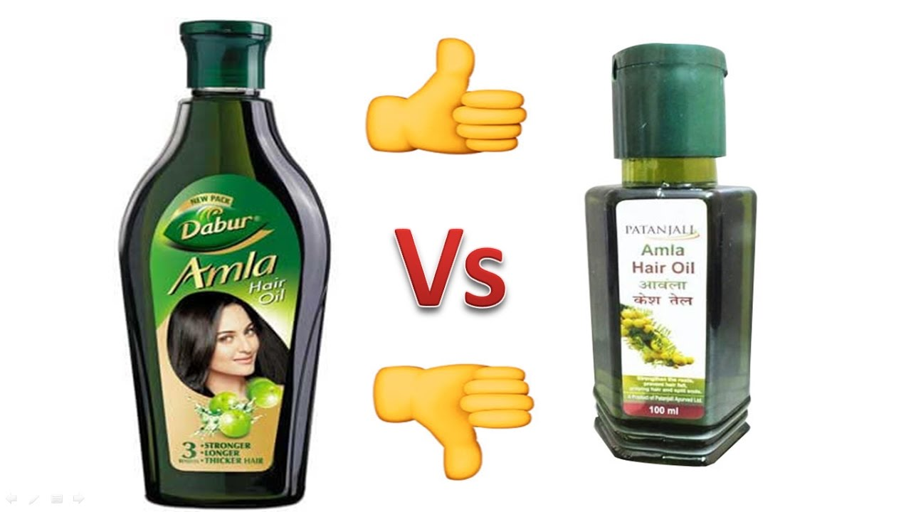 Dabur Amla Hair Oil Vs Patanjali Which Is Better How Honest Review