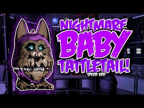 Nightmare Baby Tattletail | Speed Edit!