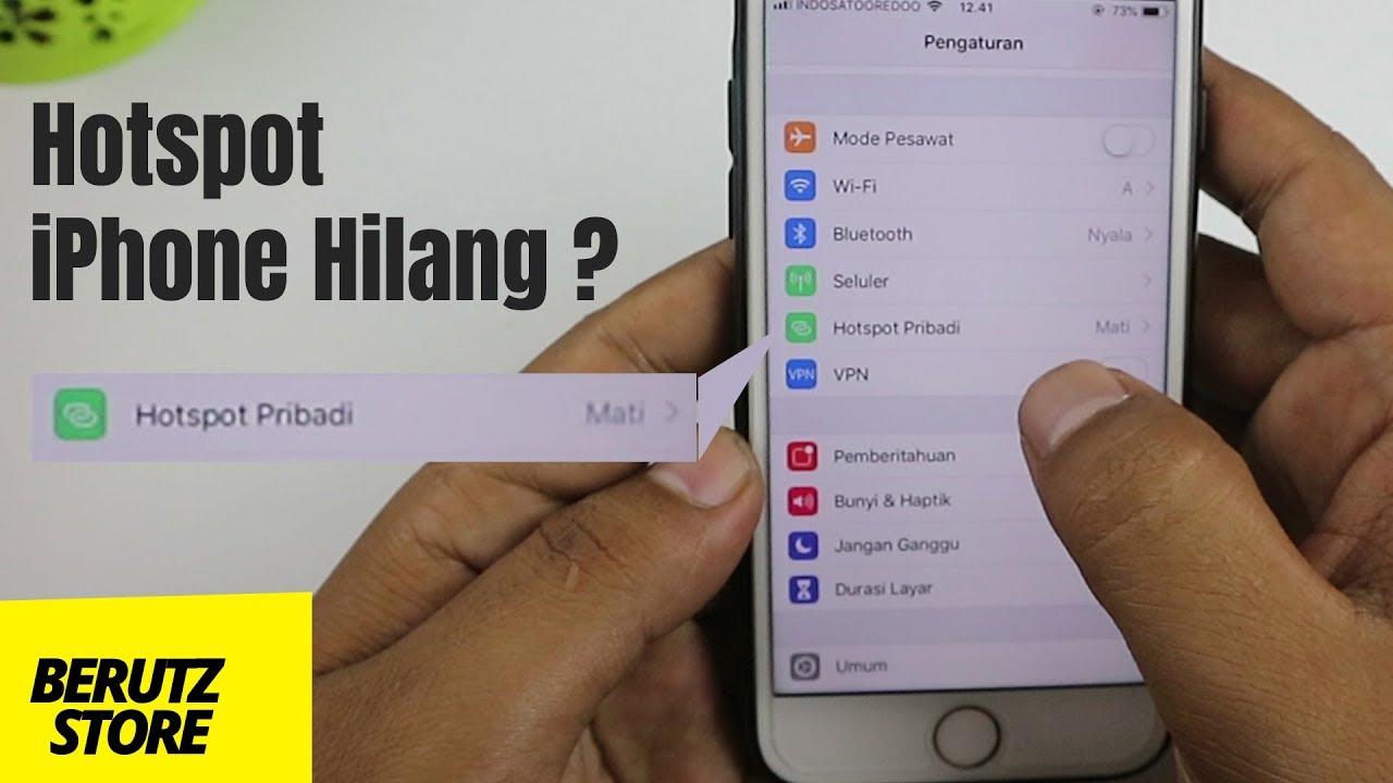 Cara Menghidupkan Hotspot di iPhone yang Hilang