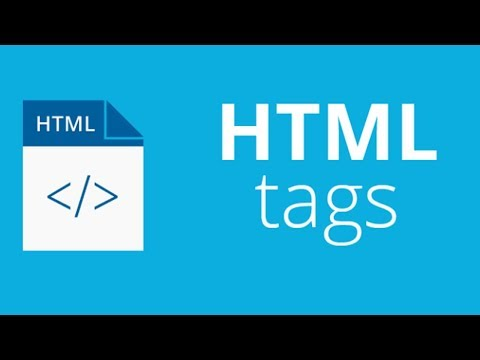 DIFFERENT TAGS IN HTML (TUTORIALS PART 1) thumbnail