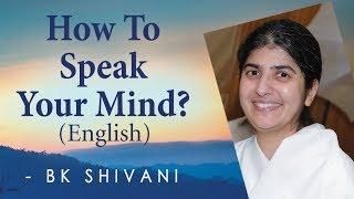 كيف يتكلم عقلك؟: Ep 32: BK شيفانى (باللغة الإنجليزية)