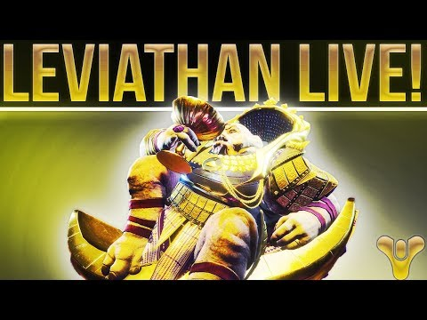 🔴 LIVE! DESTINY 2 Full Leviathan Run & Loot Chests. Hunting Midnight Coup!
