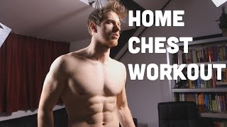 Big Chest BODYWEIGHT Home Workout