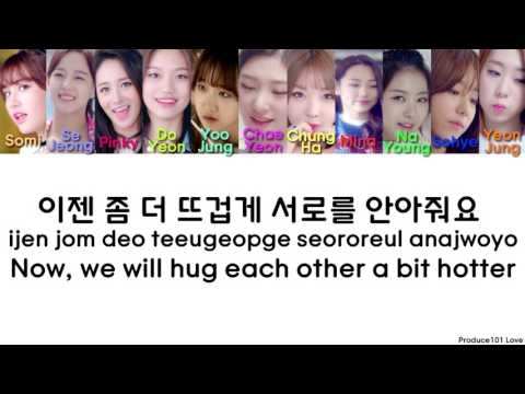 IOI ~ When The Cherry Blossoms Fade (11vr.) Color Coded Lyrics (Han/Rom/Eng)