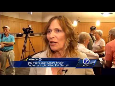 Sheriff Pat Garrett's death mystery solved