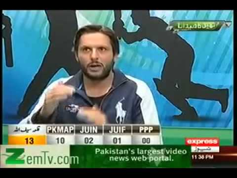 Shahid Afridi Reply To Shoaib Akhtar,Sikander Bakht And Mohammad Yousuf With Mirza Iqbal Baig 2013