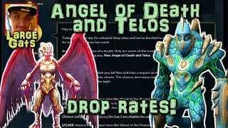 Nex: Angel of Death and Telos - Drop rates revealed!