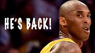 kobe bryant returning to the basketball court?