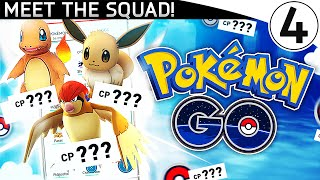 MEET THE SQUAD! - PokemonGo vLOG!!