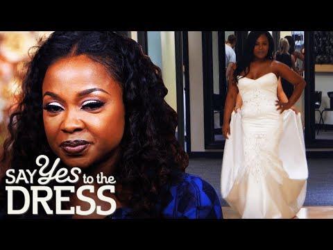 Phaedra Parks Surprises Bride! | Say Yes To The Dress Atlanta