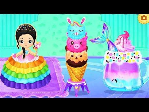 Princess Dessert Shop - Play With Secret Dessert Recipes Cooking Game For Kids