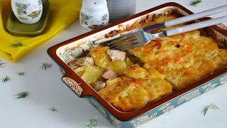 ГАРАНТИРОВАННО ВКУСНО Картошка с мясом слоями в духовке ЛУЧШИЙ РЕЦЕПТ