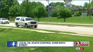 State vs. local control over 84th Street