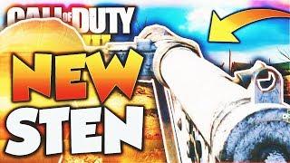 "The ""STEN"" DLC WEAPON in Call of Duty WW2! NEW WW2 STEN SMG DLC WEAPON Gameplay! (WW2 New DLC GUN)"