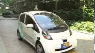 """""""فيديو"""" شاهد أول سيارة أجرة بدون سائق تبدأ العمل في شوارع سنغافورة"""