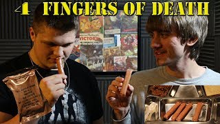 4 Fingers of Death!!! (30+ YEAR OLD HOT DOGS!)
