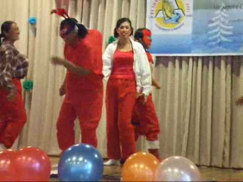 El Shaddai S'pore Chapter-Christmas Party: Outreach Ministry wmv