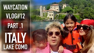 WAY'S WORLD - (VLOG#12) ITALY, LAKE COMO - PART 1