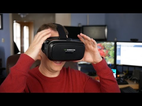 Elegiant Virtual Reality Smartphone Headset Unboxing and Impressions