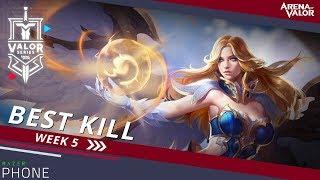 Best Kill for Week 5! | Valor Series [EU] - Arena of Valor