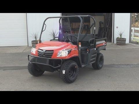 KIOTI Mechron 2200 Diesel UTV  -  Test Drive