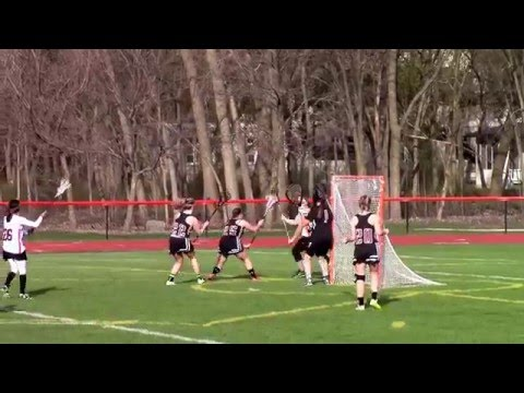 Kelsey Werner Highlights: HHS Raiders Girls Varsity Lax @ Lake Forest Academy