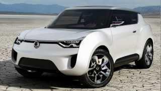 Ssangyong XIV 2 Concept 2012 Videos