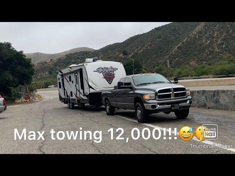 Max towing 2005 5.9 cummins 14,000lbs