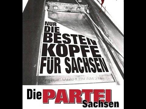 1. TV-Spot - Die PARTEI Sachsen - Landtagswahl 2014