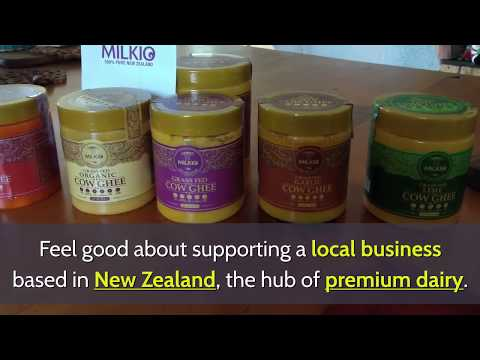 Discover the taste of quality dairy with Milkio's grass-fed ghee