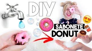 🍫🍩 DIY Sabonete de Donut e Chocolate 🍩🍫 Amigo Secreto DIY