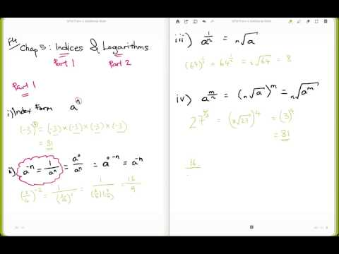 SPM F4 Chap 5  Law of Indices (Part 1 of 2)