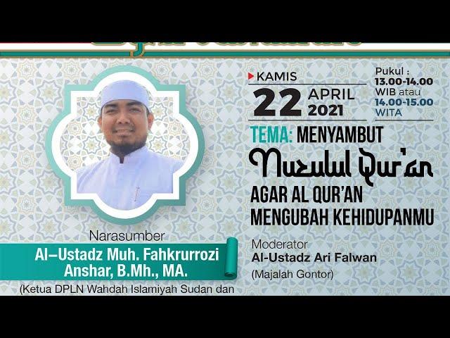 [ FULL ] MVMG KE-12 : Al-Ustadz Muhammad Fahkrurrozi Anshar, B.Sh., MA- MENYAMBUT NUZULUL QUR'AN-