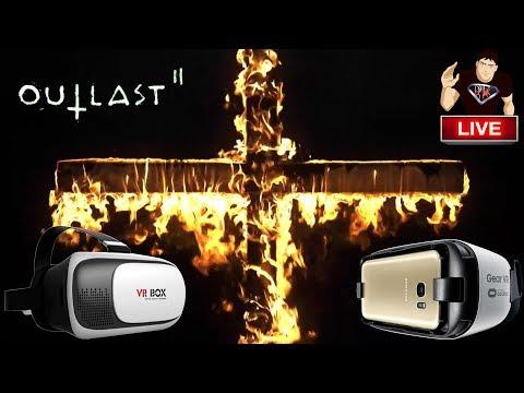 🔴 OUTLAST 2 - LIVE COM VR BOX
