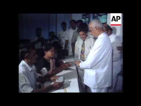 SRI LANKA – Election May End UNP's Rule